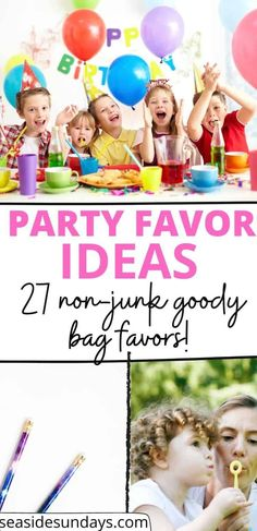 unique goodie bag ideas for birthday parties! I LOVE these cheap and fun party favors for kids! If you are stuck for great goody bag ideas, check out this list of fun ideas for girls and boys of all ages! Kids Party Games, Kid Party Favors, Party Activities, Family Activities, Skate Party, Losing A Child, Childrens Party, Goodie Bags, Holidays And Events