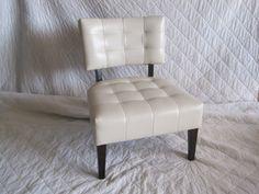 Aurora - White Leather Chair