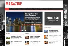 Are you looking for the best WordPress magazine themes or thinking to create a magazine website? Here we have picked best magazine themes for WordPress that you can use. Wordpress News Theme, Best Free Wordpress Themes, Premium Wordpress Themes, Wordpress Org, Themes Free, Free Magazines, News Magazines, News Sites, News Articles