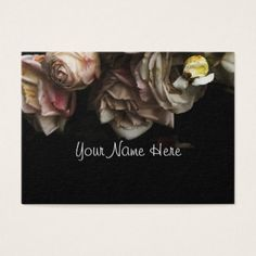 Delicate Pale Pink Roses. Business Card - rose style gifts diy customize special roses flowers