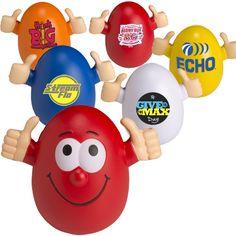 Smilin' Egg Wobbly Stress Reliever