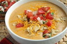 From www.TopSecretRecipes.com. The dish is one of Chilis most raved-about items. I ordered this when I was at lunch with my sister. Had to get two bowls to go!