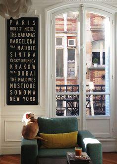 Beautiful window and a nice dog