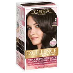 Excellence<sup>®</sup> Creme 3 Natural Black - Permanent