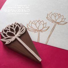 再販♡蓮の花はんこ(LT-001)
