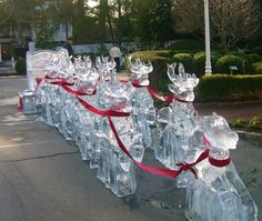 ice sculptures | Ice Carving Competition at the Greenbrier | January 6-8, 2012