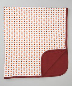 Cocoa Starburst Reversible Organic Blanket |The Green Creation
