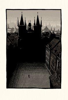 The Trial - Bill Bragg Illustration