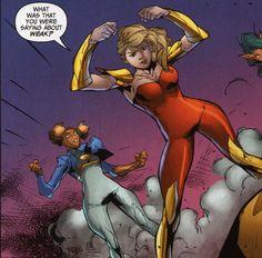 Wonder Girl in Teen Titans Vol 5 # 14 - Art by Noel Rodriguez, Art Thibert, & Tony Avina