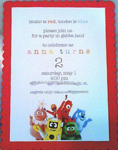 "Photo 1 of 19: Yo Gabba Gabba / Birthday ""Stylish Yo Gabba Gabba Party"" | Catch My Party"