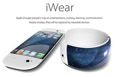 iWear – Wearable Apple Device concept. Click to see more. #Apple #iWear #YankoDesign