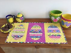 Wendy's quilts and more: An Easter table runner