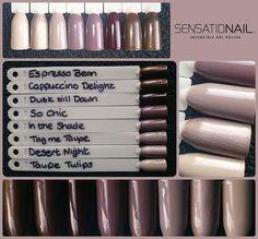 Sensationail Colors, Sensationail Gel Polish, Gel Nails, Nail Polish, Sculptured Nails, Dipped Nails, Gel Color, Nails Inspiration, Eyeshadow