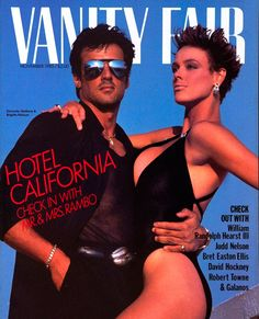 Sylvester Stallone et Brigitte Nielsen par Herb Ritts en novembre 1985.