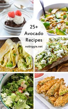 25+ Avocado Recipes