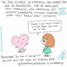 Palasia sateenkaaresta: Everyone Is a Mirror