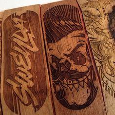 Jared Mirabile @sweyda | Websta  #skateboard #skate #wood #skull