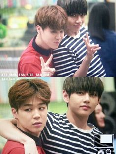BTS V and Jimin #Vmin