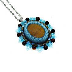 Ručně vyráběné šperky a šperky z minerálů. Tygří oko Tyga, Pendant Necklace, Jewelry, Jewlery, Jewerly, Schmuck, Jewels, Jewelery, Drop Necklace