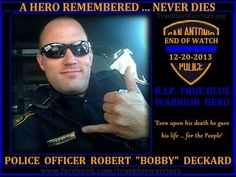 "I've seen way too many End of Watch tributes but this is by far one of the most beautiful tributes.  Hearing his young children talk to him were brave, cherished words of love.  OFFICER Robert ""Bobby"" DECKARD #0582"