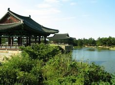 Anabji Pond in Gyeongju, S. Korea - my sister's birthcity