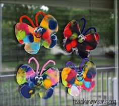 butterfly crafts for preschoolers 8