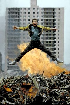 """Russ Tamblyn is on fire. vintage everyday: Color Photos from Filming of """"West Side Story"""" in 1960 West Side Story Movie, West Side Story 1961, William Shakespeare, Vintage Hollywood, Classic Hollywood, Russ Tamblyn, Dance World, King Of The World, Actrices Hollywood"""