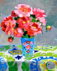 Peonies by Margaret Owen