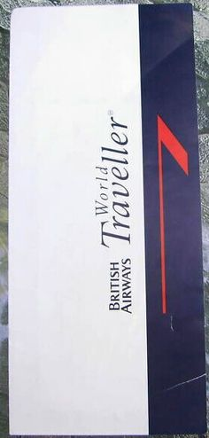 British Airways bag tag