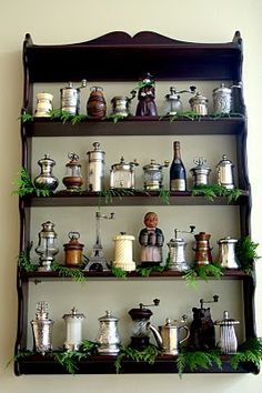 Antique & Vintage Pepper Mill Collection