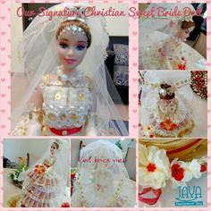 Makeover of the Bride . Bride Dolls, Elsa, Chocolate, Disney Princess, Disney Characters, Handmade, Hand Made, Schokolade, Craft