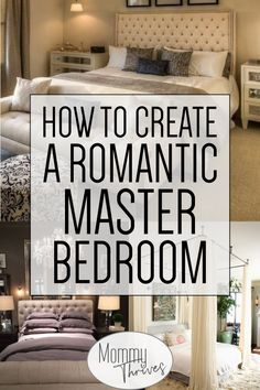 Romantic Master Bedrooms On Pinterest