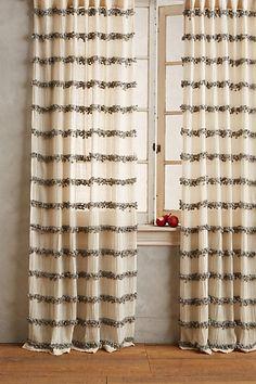 Swing Stripes Curtain - anthropologie.com