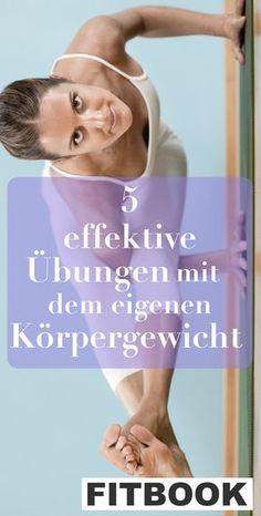 Keine Geräte – alles, was Sie brauchen, ist Ihr Körper. Bodyweighttraining liegt voll im Trend. FITBOOK zeigt die fünf effektivsten Körpergewichts-Übungen für zu Hause.