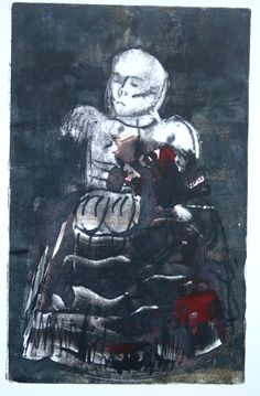 """Infant"" Monoprint 2003"