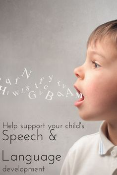 Tips on how to develop your child's speech and language, books to try, techniques to use