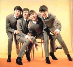 "The Beatles - The 4 ""Mop Tops""..."