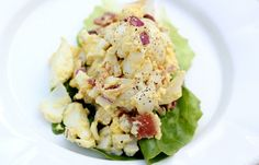 The Paleo diet recipes: egg salad