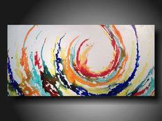Abstrait art abstrait peinture couteau palette par JMJARTSTUDIO