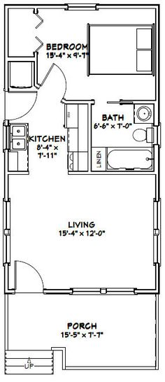 tiny house floor plans pdf