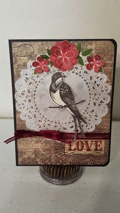 Crafting with Helena: Love card