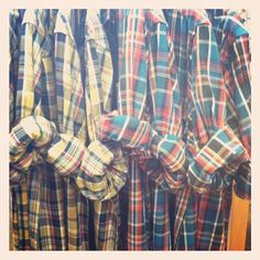 It's all about the plaid! They always come up with new color combinations, that I like even better @Patagonia
