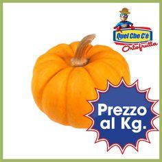 La vera Zucca di Halloween...ideale per le decorazioni! A soli € 1,20 al Kg!!!