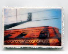 Georgetown Encaustic Photograph Photo, Encaustic Art, Photography, Art, Encaustic Wax, Vintage