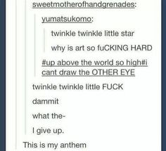 twinkle twinkle fucking why can't i draw the other eye - Google Search