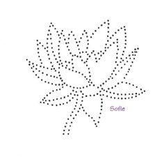 Waterlelie | Bloemen en Planten | glittermotifs