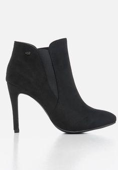 Belle 6 boot - black Miss Black Boots | Superbalist.com Toe Shape, Black Boots, Stiletto Heels, Two By Two, Footwear, Booty, How To Wear, Shoes, Women