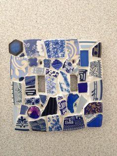 Switch plate mosaic