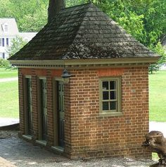Necessary House in Colonial Williamsburg.