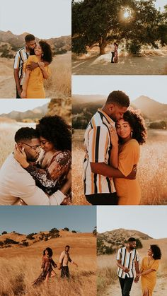 This Malibu Creek State Park engagement session features the most stylish couple, dreamiest golden hour, and an incredible view of the Santa Monica Mountains and Malibu Canyon. Captured by Carrie Rogers - a California wedding and elopement photographer. Couple Photoshoot Poses, Couple Photography Poses, Pre Wedding Photoshoot, Couple Posing, Couple Shoot, Engagement Photography, Engagement Session, Engagements, Malibu Creek State Park